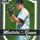 2017 Donruss Optics Masters of the Game Mike Mussina No. MG5