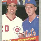 1989 Fleer Danny Jackson, David Cone No. 636