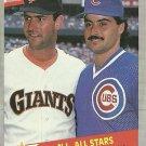 1989 Fleer Will Clark, Rafael Palmeiro No. 631