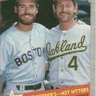 1989 Fleer Wade Boggs, Carney Lansford No. 633