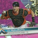 2017 Topps Chrome J.T. Realmuto No. 191 Refractor