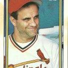 1992 Topps Joe Torre No. 549
