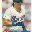 1993 Donruss Jose Canseco No. 159