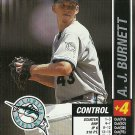 2002 MLB Showdown A.J. Burnett