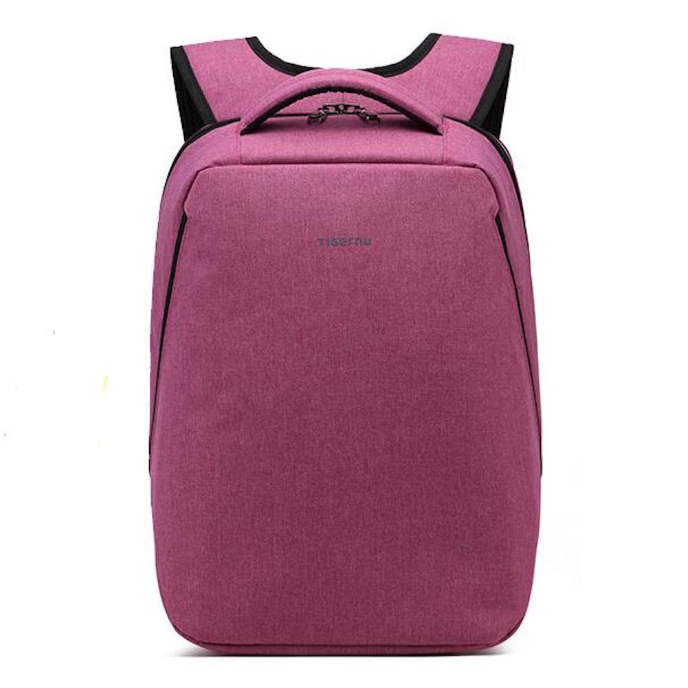 Slim Laptop Backpack School Travel Rucksack Water resistant