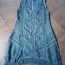 SOFT SURROUNDINGS Blue 100% Raime Lace Trim Sleeveless Shift Dress S