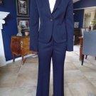 J Crew Navy 100% Wool Blazer & City Fit Pant Suit 2