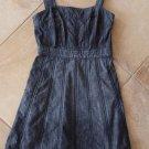 Anthropologie Fei Blue Denim 100% Cotton Fit & Flare 100% cotton Sheath Dress 4