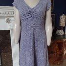 ATHLETA Purple Geometric Pattern Jersey Short Sleeve Fit & Flare Sheath Dress S