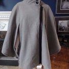 LANE BRYANT Grey Cape Poncho Coat Jacket 22/24W