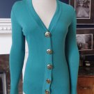 TORY BURCH Button Front 100% Cotton Cardigan Sweater XXS