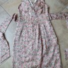 TALBOTS Floral Printed Empire Waist Sheath Dress 2P