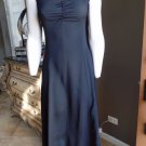 BETSEY JOHNSON Black Midi Maxi Slip Sheath Dress P