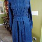 JEFFREY MONTEIRO Print 100% silk Chiffon Sheath  Dress 4 Lace up back