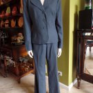 ANNE KLEIN Classic Slate Blazer And Pant Suit 12