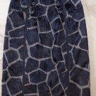 ETCETERA Faux Fur Animal Print Pencil Skirt 0