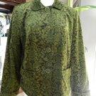 $99 TALBOTS Printed Classic Jacket  Blazer 14