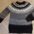 ONE OF A KIND 100% Alpaca Crewneck Classic  Sweater M