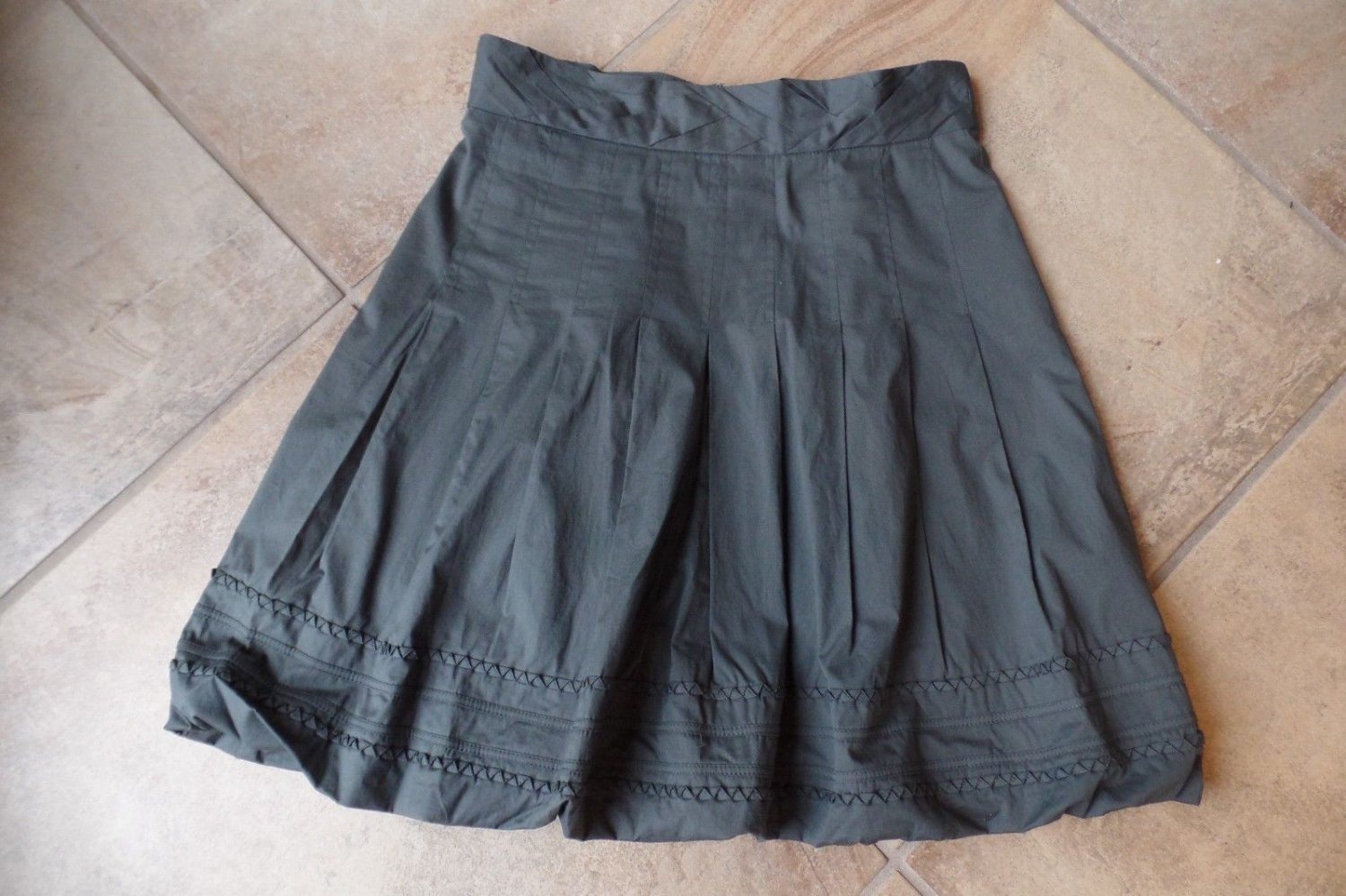 Plenty Tracy Reese Olive A Line Bubble Skirt 6