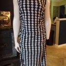 NWOT KAMALIKULTURE Printed Stretch Ruched Sheath Dress XL