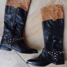 Sam Edelman Women's Park Boots in Black Studded 7.5