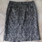 ANN TAYLOR Animal Print Cotton Blend Pencil Skirt 4