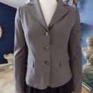 ELIE TAHARI Classic Olive Brown Button Front Blazer Jacket 4