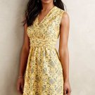 Latticelace Floral Lace Dress by Plenty by Tracy Reese Sz 0 - Yellow