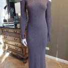 TOMMY BAHAMA Cut Out Shoulders Long Sleeve Mock Neck Maxi Sweater Dress XXS