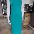 NWT ANN TAYLOR Green Halter Stretch Jersey Maxi Dress XSP