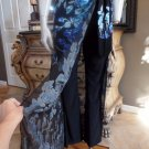 CACHE Floral Overlay Sarong Skirted Stretch Pants P