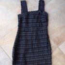FRENCH CONNECTION Black Ribbon Trim Cocktail Sheath Dress 6