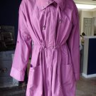 Marc Bouwer Snaps Relaxed Fit Anorak Drawstring Solid Fuschia L