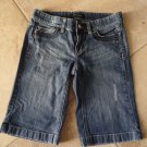 WHITE HOUSE BLACK MARKET Denim Bermuda Shorts 00