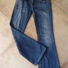 MEK DENIM Chicago Bootcut Medium Wash Low Rise Jeans 28