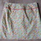 LILLY PULITZER Fruit Print Cotton Blend Mini Skirt 4