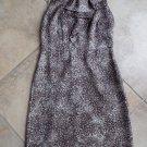 NWT ANN TAYLOR LOFT Animal Print Sleeveless Sheath Dress 0