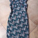 NWOT WHITE HOUSE BLACK MARKET Printed Ponte  Classic Sheath Dress 8