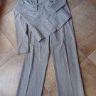 Lafayette 148 Light Grey Classic Blazer & Pant Suit 10