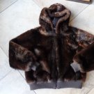 Donna Salyers' Fabulous Faux Fur Cropped Hooded Bomber Jacket & Coat L