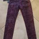 NWT ROCK & REPUBLIC Animal Print Banshee Super Skinny Leg Jeans 2