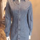 NWT DIESEL Polka Dot Denim Shirt Dress S