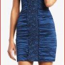 $378  BCBG MAX AZRIA MARIKO CRUSHED TAFFETA DRESS 4