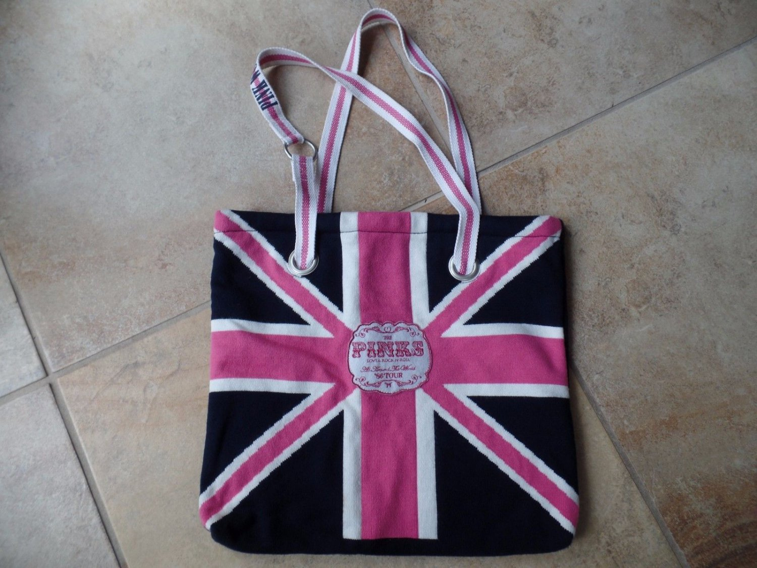 Victoria's Secret Pink Around the World Tour 86  Tote Bag