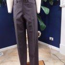 Dolce & Gabbana Brown 100% Wool Straight Dress Pants 48