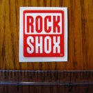 ROCK SHOX Mountain Bike Bikes Fork Shox C STICKER DECAL