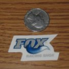 FOX RACING BIKE MOTOCROSS MOTO Small NEW STICKER DECAL