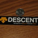 DESCENTE  BIKES BICYCLES BIKE FRAME CAR STICKER DECAL