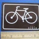 CIVIA Road Tri Mountain Ride Bike Bicycle DECAL STICKER