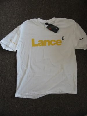 2XL Lance Armstrong Nike Trek T - Shirt Bike Ride Race